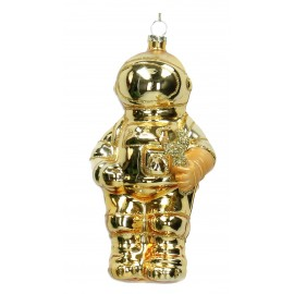 Kerstbal Spaceman Goud