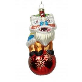 Kerstbal Chinese Leeuw