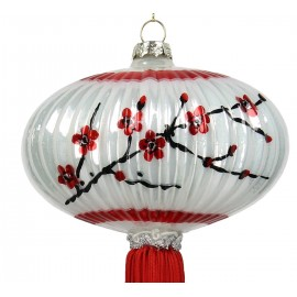 Kerstbal Chinese Lampion Ovaal