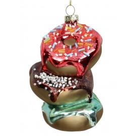 Kerstbal Gestapelde Donuts