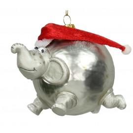 Kerstbal Ballon Olifant