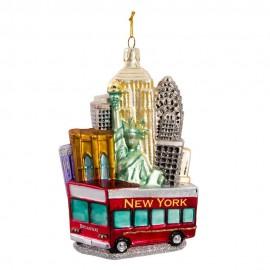 Kerstbal New York City Broadway