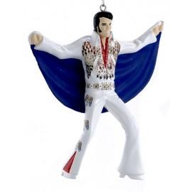 Kerstbal Elvis Presley met Cape