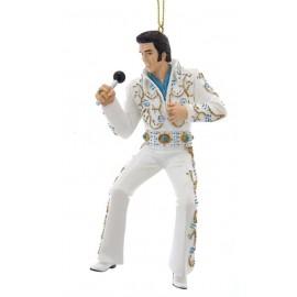 Kerstbal Elvis Presley  Microfoon