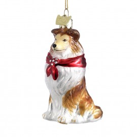 Kerstbal Shetland Sheepdog