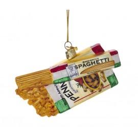 Kerstbal Spaghetti en Penne