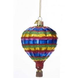 Kerstbal Luchtballon D