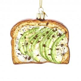 Kerstbal Avocado op Toast