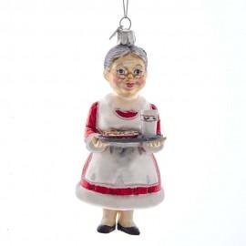 Kerstbal Kerstvrouw