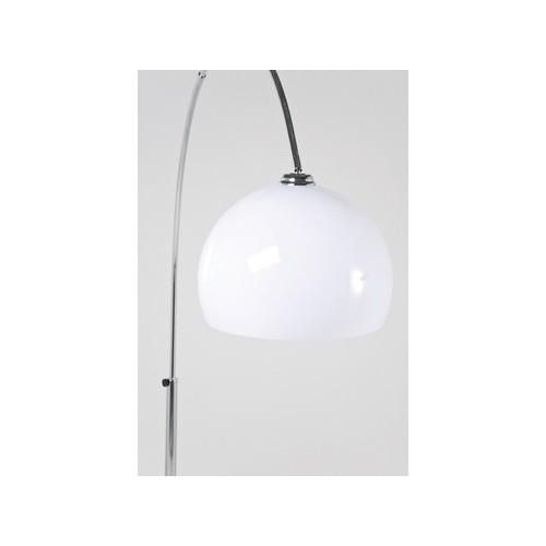 Booglamp lounge witte kap - Witte design lounge ...