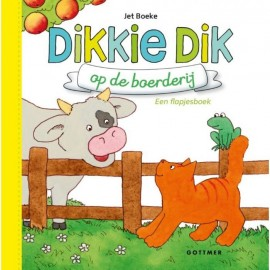 Dikkie Dik op de boerderij. Flapjesboek