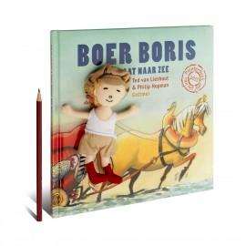 Boer Boris gaat naar zee met vingerpopje