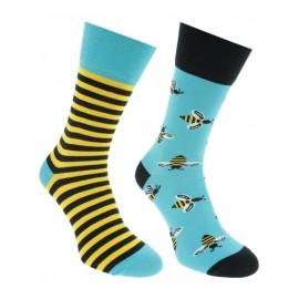 Many Mornings MisMatch Sokken Bee Bee