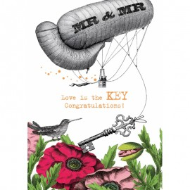 Mr & Mr Love is the Key Congratulations