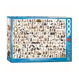 Puzzel The World of Dogs 1000st