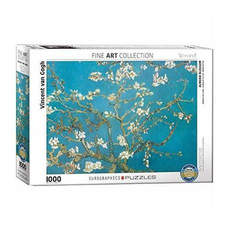 Puzzel Appelbloesem Vincent van Gogh 1000st
