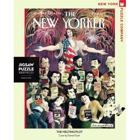 Leg Puzzel The New Yorker Melting Plot 1000st