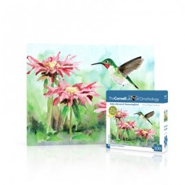 Mini Puzzel Ruby-throated Hummingbird 100st.