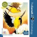 Mini Puzzel American Goldfinches 100st.