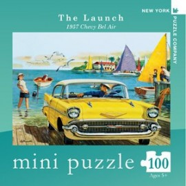 Mini Puzzel The Launch 100st.