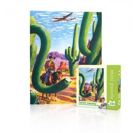 Mini Puzzel Cactus Country 100st.