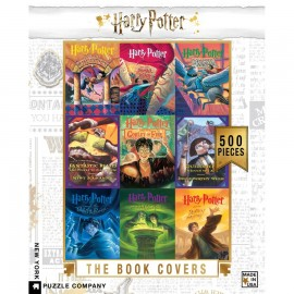 Leg Puzzel Harry Potter boek covers 500st