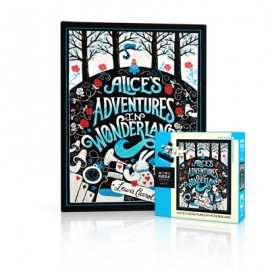 Mini Puzzel Alice in Wonderland 100st.