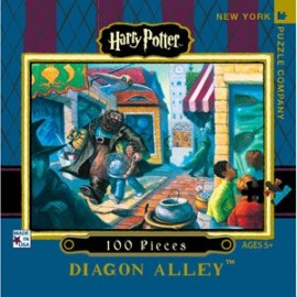 Mini Puzzel Harry Potter Diagon Alley 100st.