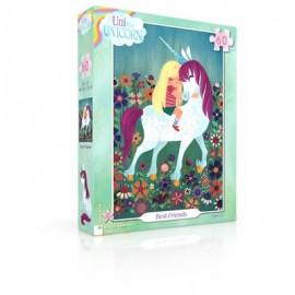 Leg Puzzel Unicorn Best Friends 60st.