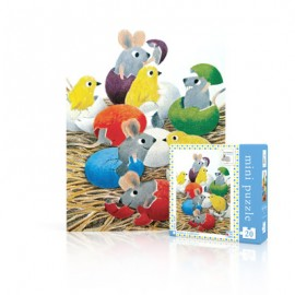 Mini Puzzel Happy Hatching 20st.
