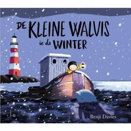 De Kleine Walvis in de winter Kartonboek 3+