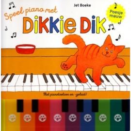 Speel piano met Dikkie Dik Geluidenboekje