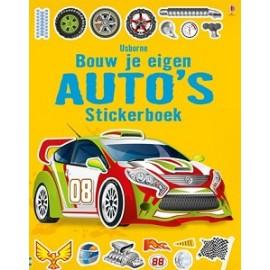 Bouw je eigen Auto's Stickerboek