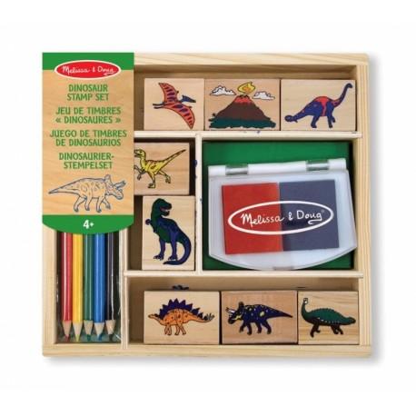 Dinosaurus Stempelset