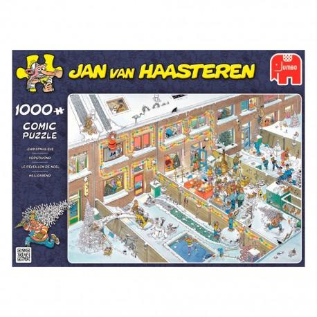 Kerstavond Jan van Haasteren 1000st.