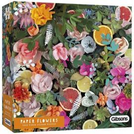 Puzzel Paper Flowers 1000st.