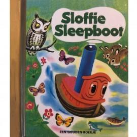 Sloffie Sleepboot  Een mini gouden boekje