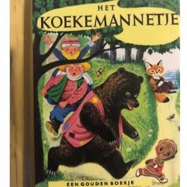 Het Koekemannetje Een mini gouden boekje
