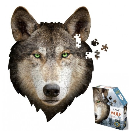 Puzzel I am Wolf 300st