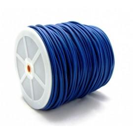 Springtouw Blauw per meter