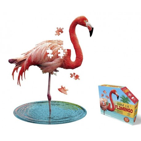 Puzzel I am Flamingo 100st