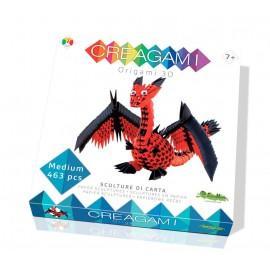 3D Origami Creagami Draak
