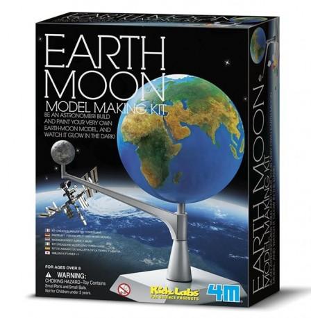 4M Bouwpakket Aarde Maan