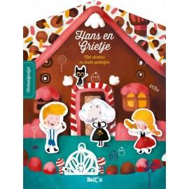 Sprookjesstickerboek Hans en Grietje