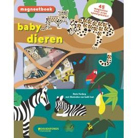 Magneetspeelboek Babydieren