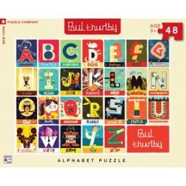 Puzzel Alphabet 48st