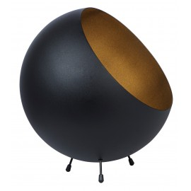 Tafellamp Ball XL zwart mat