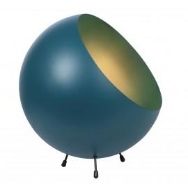 Tafellamp Ball XL blauw mat