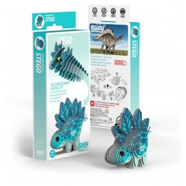 Kartonnen 3D Puzzel Stegosaurus