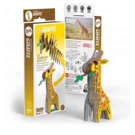 Kartonnen 3D Puzzel Giraf